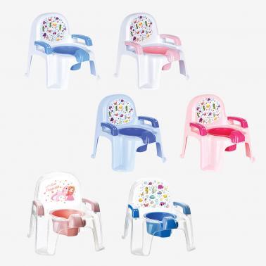 Пластмасово детско гърне столче 33x30x30смразлични цветовеИП-(CM-135)- Irak Plastik