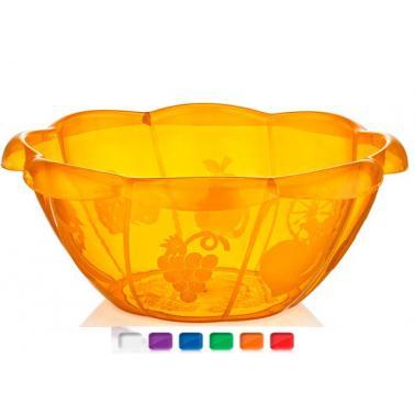 Пластмасова купа  4.5л. различни цветове PAPAYA(BD-700)  -  Irak Plastik