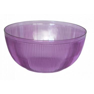 Пластмасова купа кръгла 3л. оребрена (BD-800)   -  Irak Plastik