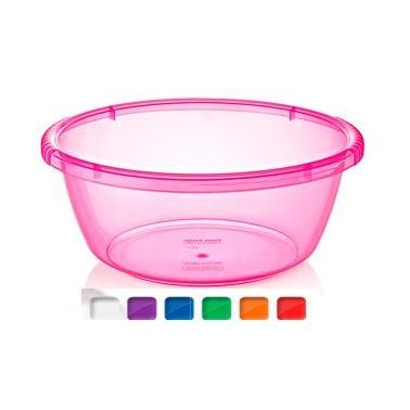 Пластмасова купа кръгла №3 4.2л. различни цветове (BD-910)   -  Irak Plastik