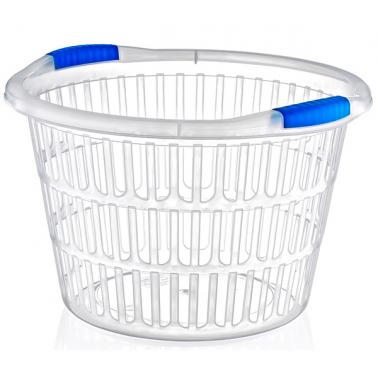 Пластмасов панер за пране кръг (LA-520)  -  Irak Plastik