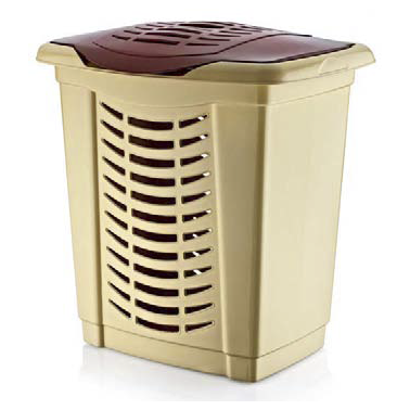 Пластмасов кош за пране  65л. 52x41x56см СИМПАТИ (LA-115)  -  Irak Plastik