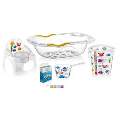 Пластмасов комлект за бебе от 5 части , 81,5 x 33 x 49,5см ИП-(CM-700)- Irak Plastik