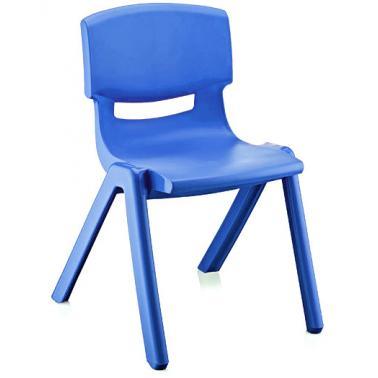 Пластмасово детско столче ДЖЪМБО тъмно синьо 42x34x58см ИП-(CM-505)- Irak Plastik