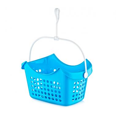 Пластмасова кошничка за щипки правоъгълна 2.25 л. (LA-215)  -  Irak Plastik