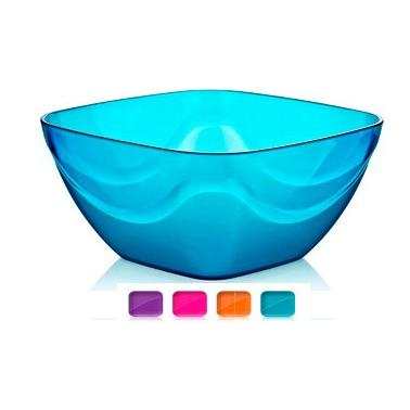 Пластмасова купа квадратна №2 3.2л различни цветове (BD-430)  -  Irak Plastik