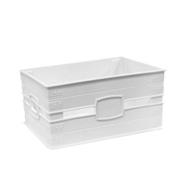 Пластмасов панер №1 23x17.5x10см 3,1л  бял (SP-380)   - Irak Plastik
