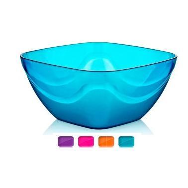 Пластмасова купа квадратна №3 5л различни цветове (BD-435)  -  Irak Plastik