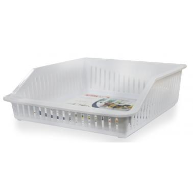 Пластмасов органайзер за хладилник плитък бял 4,85л ИП-(BA-680)  - Irak Plastik