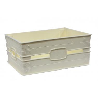 Пластмасов панер №1  23x17.5x10см 3,1л слонова кост (SP-380)   - Irak Plastik