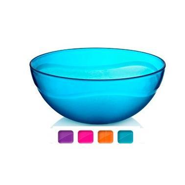 Пластмасова купа кръгла №3 4.5л 29x12см различни цветове (BD-410)   -  Irak Plastik
