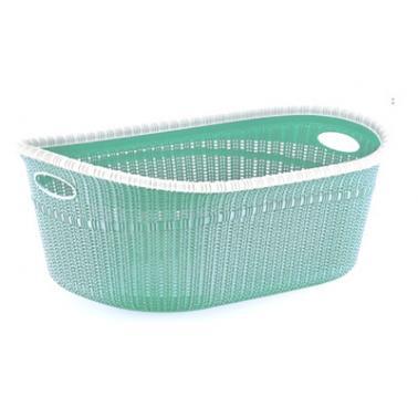 Пластмасов панер за дрехи 35л зелен ИП-(LA-530)- Irak Plastik