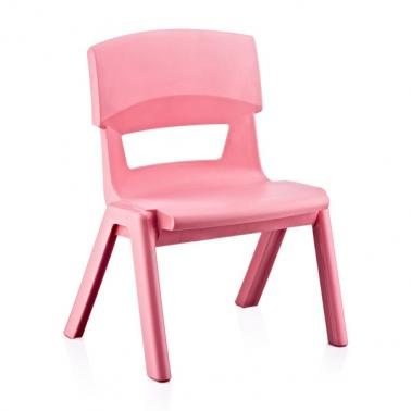 Пластмасово детско столче ДЖЪМБО розово33x25x48см ИП-(CM-500)- Irak Plastik