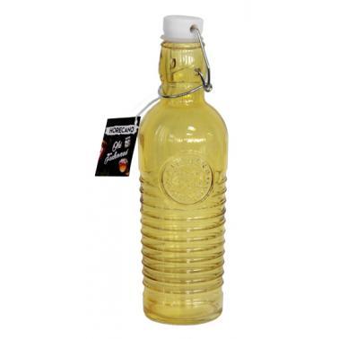 Стъклена бутилка  с клипс жълта  1л OLD FASHIONED-YELLOW- (339269-Y) - Horecano