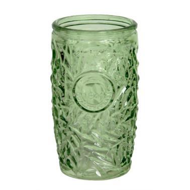 Стъклена чаша  за коктейли зелена 400мл ALOHA-GREEN- (339506Y-G) - Horecano