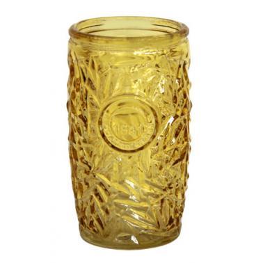 Стъклена чаша  за коктейли жълта 400мл ALOHA-YELLOW- (339506Y-Y) - Horecano