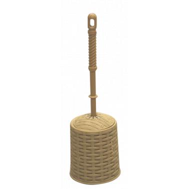 Ратанова четка за тоалетна бежова VT-(0289) - Horecano