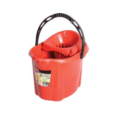 Пластмасова кофа с цедка 2-ро качество овал 13л PLANET-(UP 603)