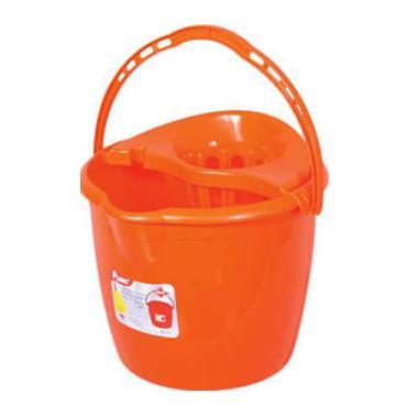 Пластмасова кофа с цедка 1-во качество кръгла13л PLANET-(UP 626)