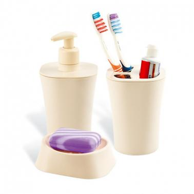 Пластмасов комплект за баня