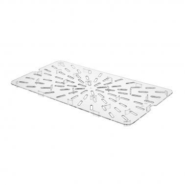 Поликарбонатна дренажна решетка 1/1 46,3х25,8х1,5см PC-(GNPS-11) - Horecano