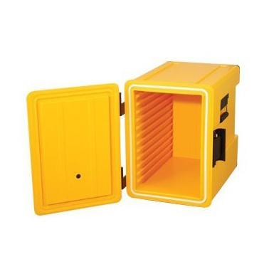 Термо каса жълта  601М 45x62,5xH57,5см 83л HORECANO-(100160)