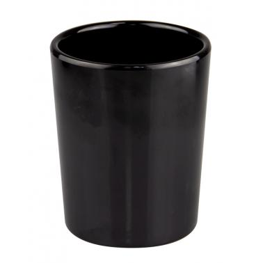 Меламинова модулна купа ф10xh10см 590мл черна (1590.BL)- Kulsan