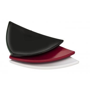 Меламинова чинийка триъгълна черна  10,5x10,5x1см AN-(K-3511) - Alkan