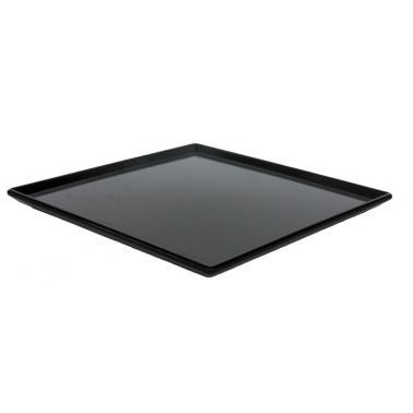 Меламиново плато черно  24,5x24,5x1см  (K-2043)AN - Alkan