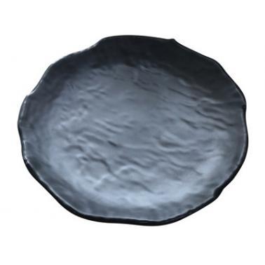 Меламинова чиния  NormaPlate 20xh2.8см черна  KN-(43020 BL) - Kulsan