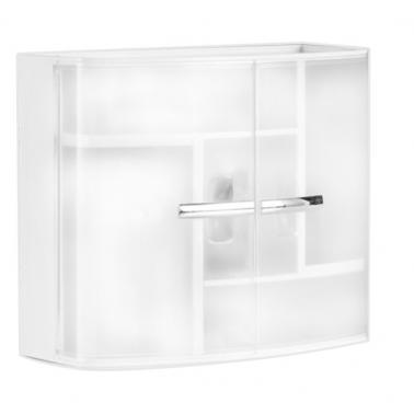 Пластмасово шкафче за баня 38,5х32,5х17см PN-  (M-08416)  - Primanova