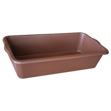 Пластмасова вана правоъгълна малка 55х34х14см OZG