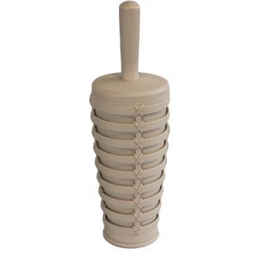 Пластмасова четка  за тоалетна PALM бежова PN-  (M-E22-09-09) - Primanova