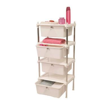 Пластмасово шкафче с чекмеджета 4 на нива PN-(M-08901)  - Primanova