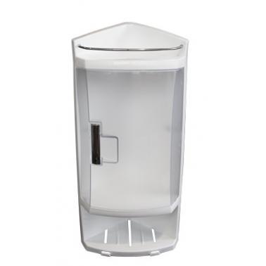 Пластмасово шкафче  за баня  ъглово с 1 вратичка PN-  (S-05-16)  - Primanova