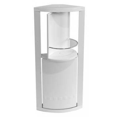 Пластмасово шкафче  за баня  ъглово с 2 вратички PN-(S-03-01)  - Primanova