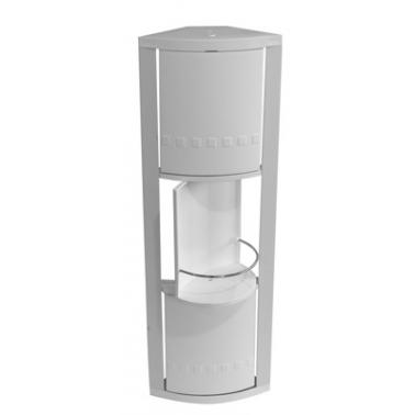 Пластмасово шкафче  за баня  ъглово с 3 вратички PN-  (S-01-01) - Primanova