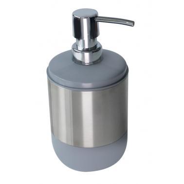 Пластмасов дозатор за течен сапун сив