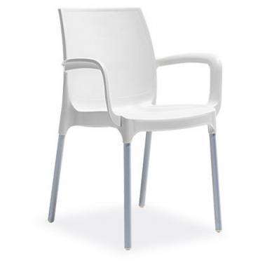 Пластмасов стол с подлaкътник