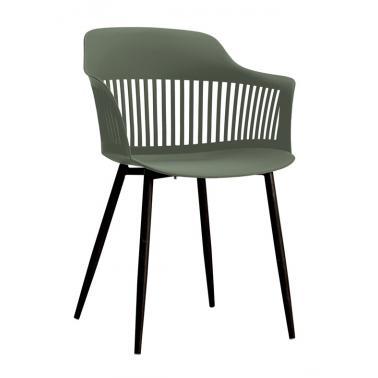 Стол 53х59х81.5см зелено/черно HORECANO-MIAMI-(HC-42395)