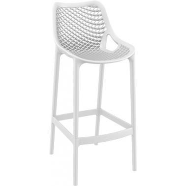 Пластмасов бар стол AIR бял SI-(068)- Siesta