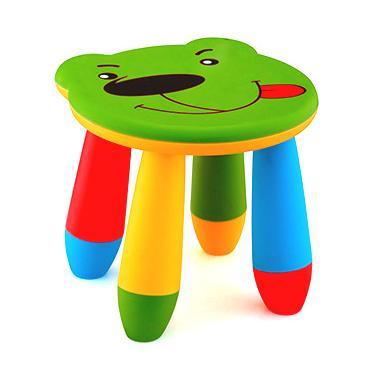 Пластмасово детско столче мече зеленоLXS-310 - Horecano