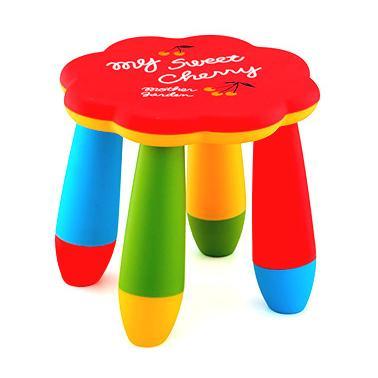 Детско пластмасово столче цвете червеноLXS-309 - Horecano