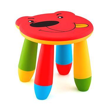 Пластмасово детско столче мече червеноLXS-310 - Horecano