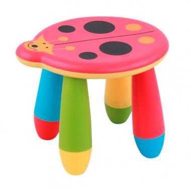 Детско пластмасово столче калинка червено LXS-303 - Horecano