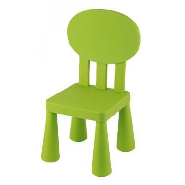 Пластмасово детско столче с овална облегалка зелено LXY-201- Horecano