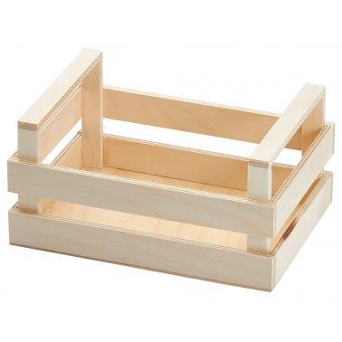 Дървен панер тип