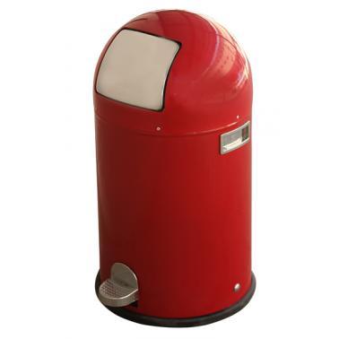 Кош за отпадъци 33л. червен с педал ЕК-9648-RE - Horecano