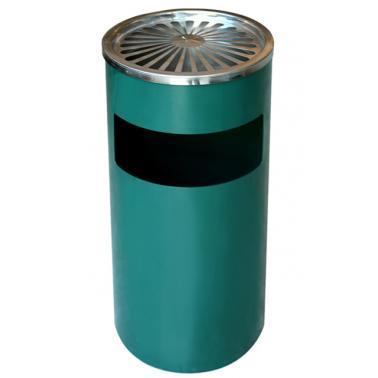 Метален пепелник зелен 25/61 ЕК-9632 GR - Horecano