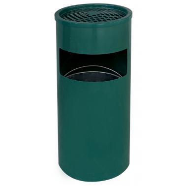 Метален пепелник зелен 25/61 ЕК-9631P GR - Horecano